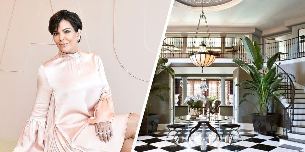 Desain Rumah Mewah Kris Jenner