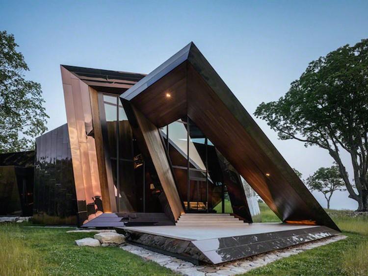 9 Desain Rumah Unik Geometris Super Kreatif Sudut Tidak Beraturan