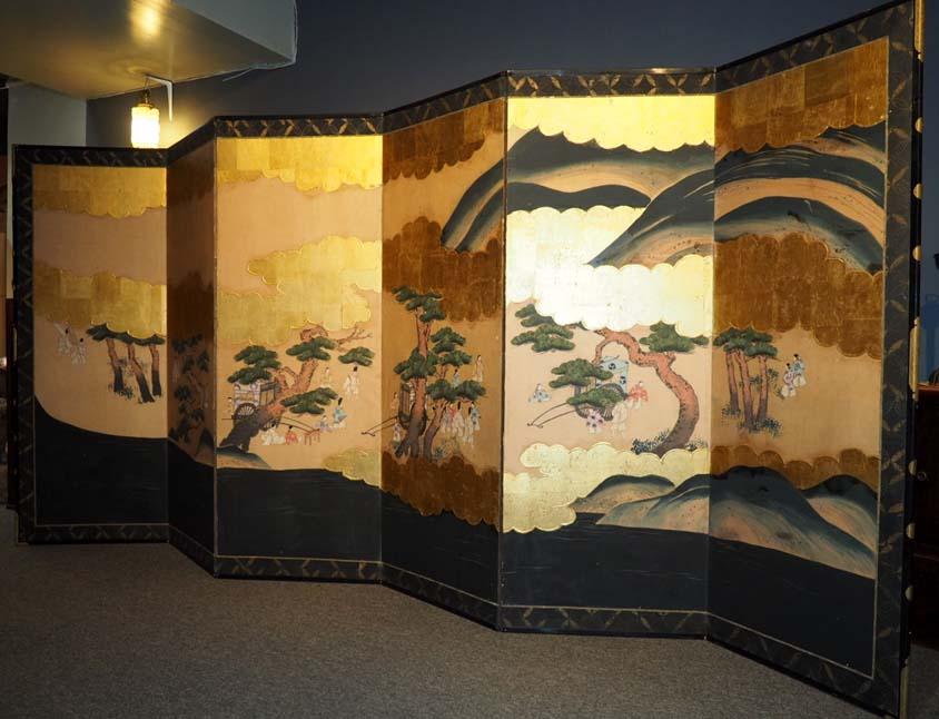 Byobu Interior Rumah Jepang