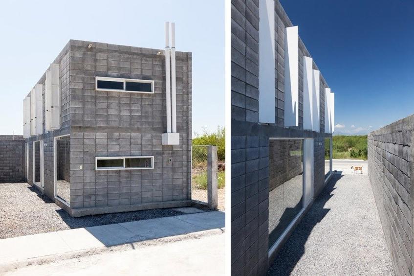 15 Desain Rumah 2 Lantai Minimalis Kreatif Murah Casa Caja