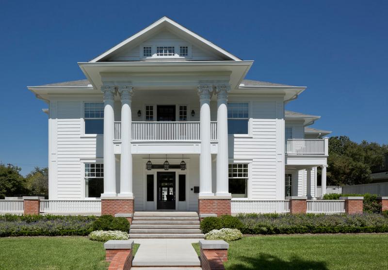 Fasad Rumah Neo Klasik