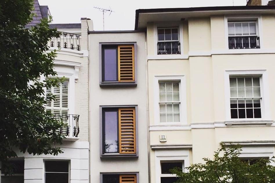Rumah Terkecil Di dunia Gap House