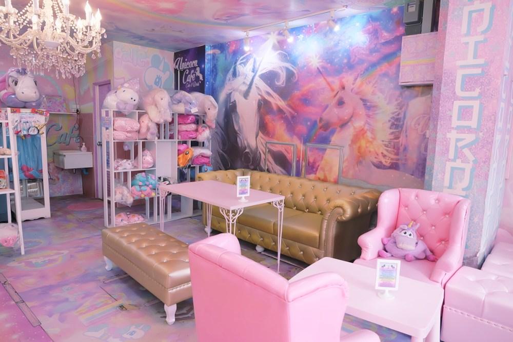 Interior Cafe Unicorn