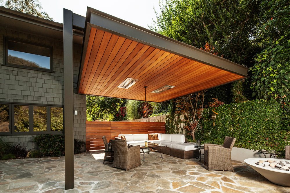 10 Kanopi Minimalis Gaya Untuk Lindungi Rumahmu Dari Panas