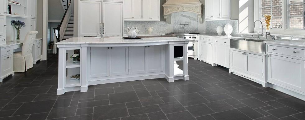 Lantai Keramik Dapur