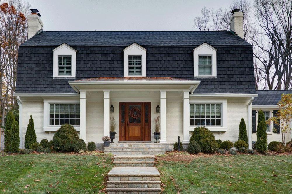 Model Atap Rumah Mansard