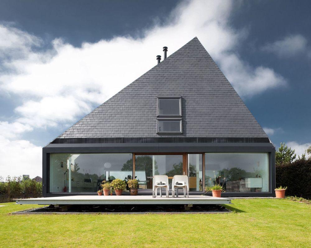 Model Atap Rumah Pyramid