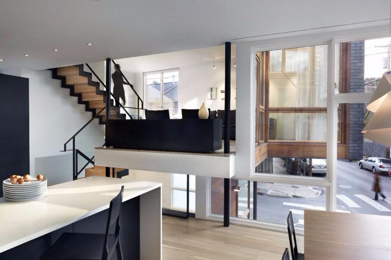 Gambar rumah sederhana split level