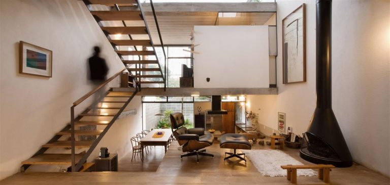 Rumah Split Level Konstruksi