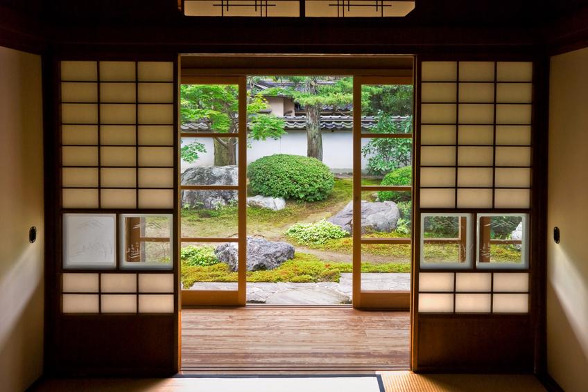 Sliding Door Interior Rumah Jepang