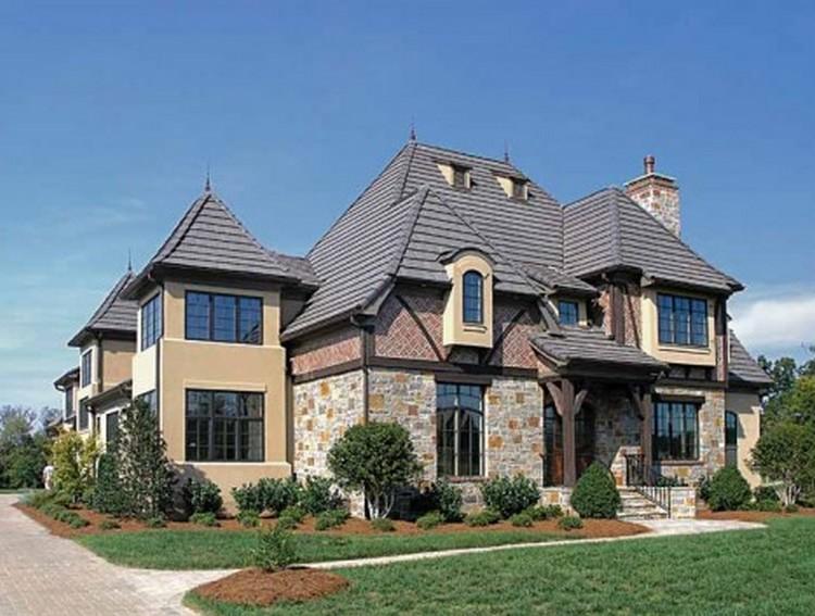 Home design in winter