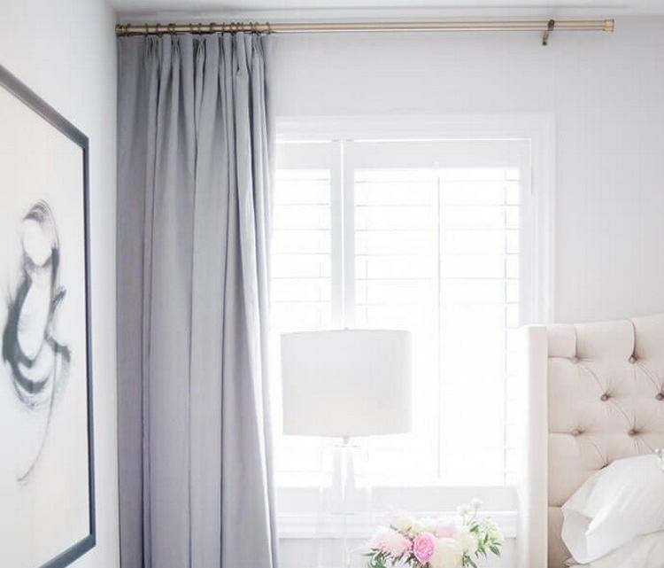 cara menghias kamar tidur yang sempit tirai