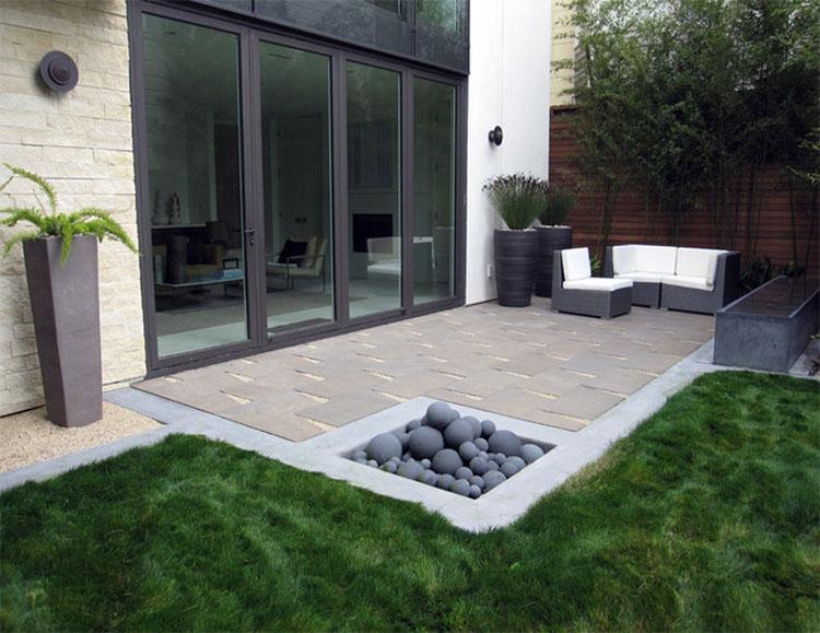 arsitektur rumah minimalis taman