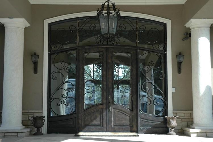 pintu rumah gaya eropa