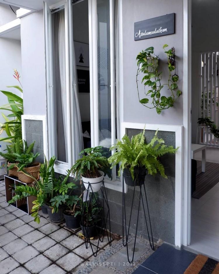 Yuk Intip Cantiknya Rumah Kecil Minimalis Bertema Monokrom