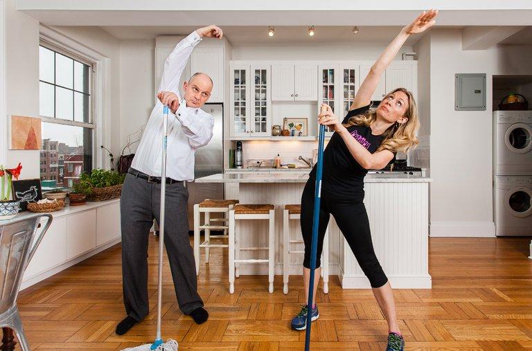 Merapikan Rumah Sebagai Olahraga