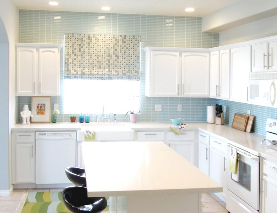 Desain Kitchen Set Backsplash
