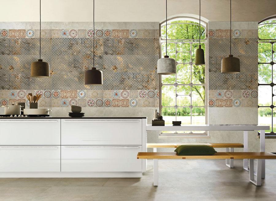 Keramik Dinding Keseimbangan Warna