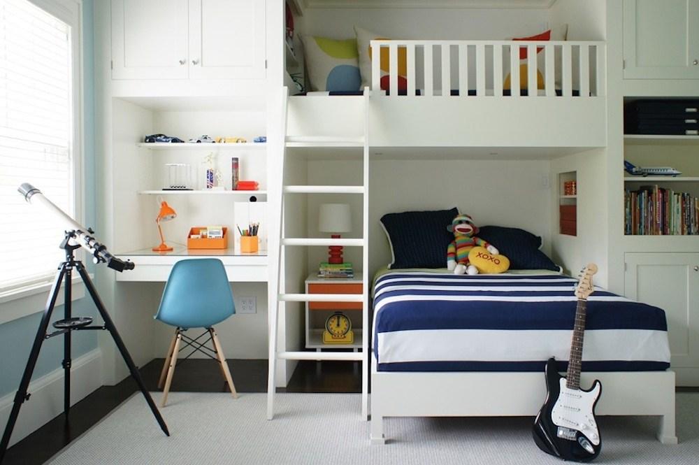 Manfaatkan Setiap Sisi Ruang Kamar Tidur