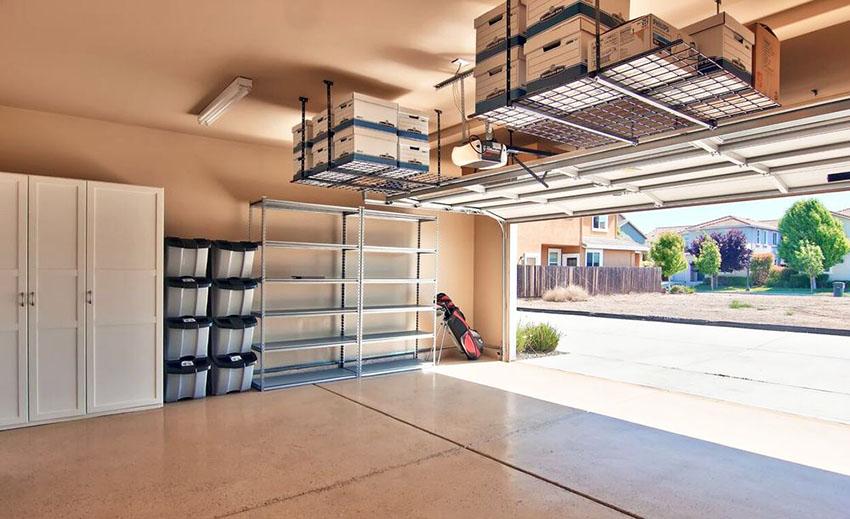 Kotak Penyimpanan Overhead Storage Garasi Mobil