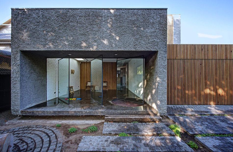 Rumah Minimalis Terbaru Facad Batu