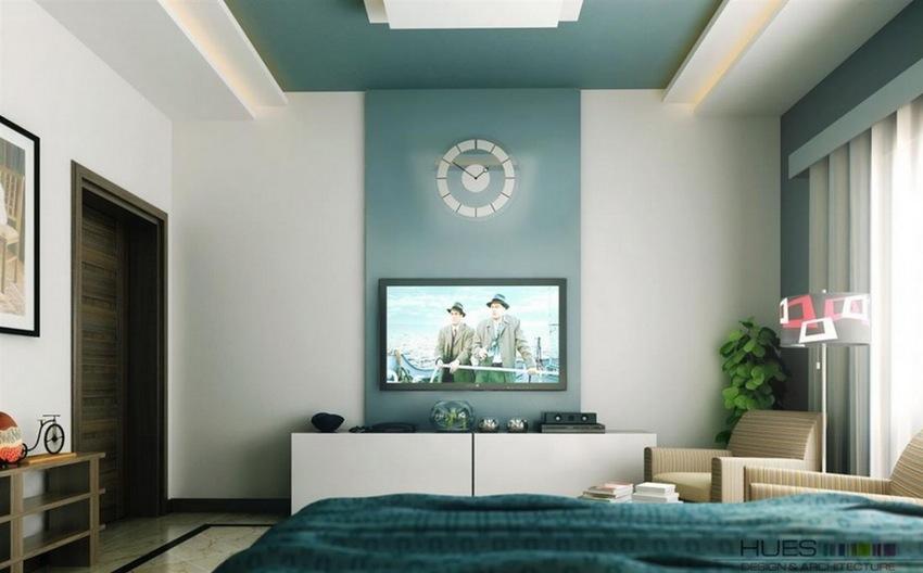 Warna Cat Rumah Minimalis Spruce Blue-Green