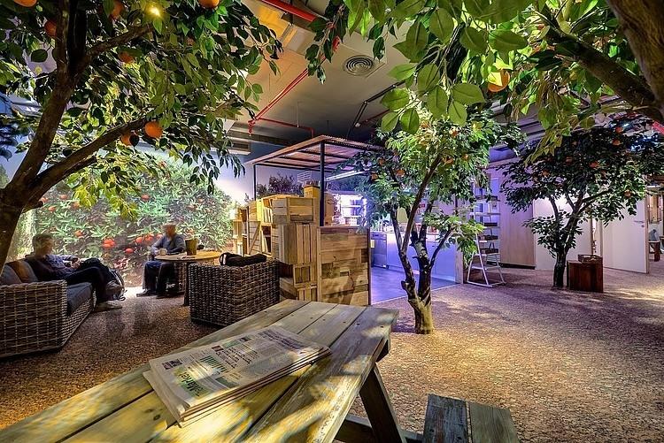 Desain Kantor Google Tel Aviv