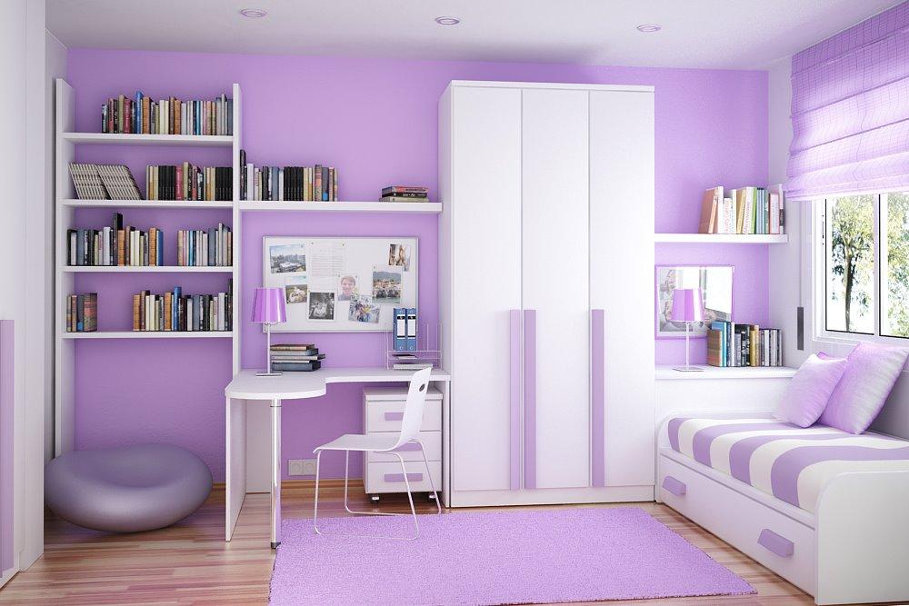 Warna Cat Rumah Minimalis Ultra Violet