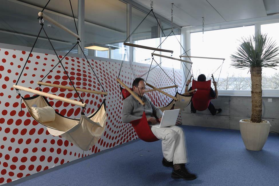 Desain Kantor Google Zurich