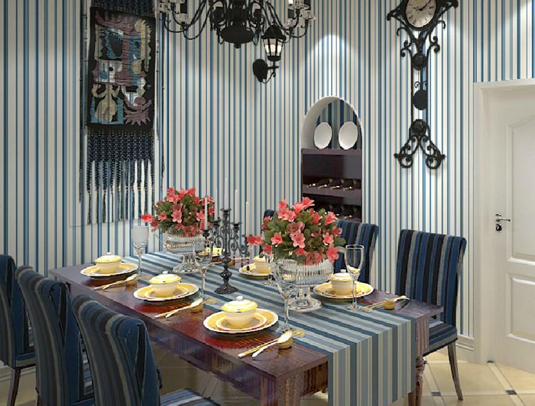 Wallpaper Dinding Rumah Beratap Rendah