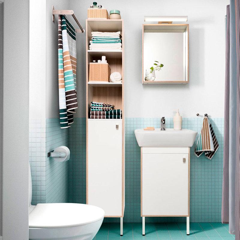 Lakukan penataan pada setiap sudut ruang model kamar mandi