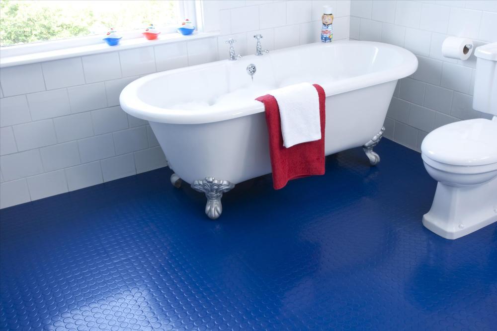 lantai kamar mandi rubber
