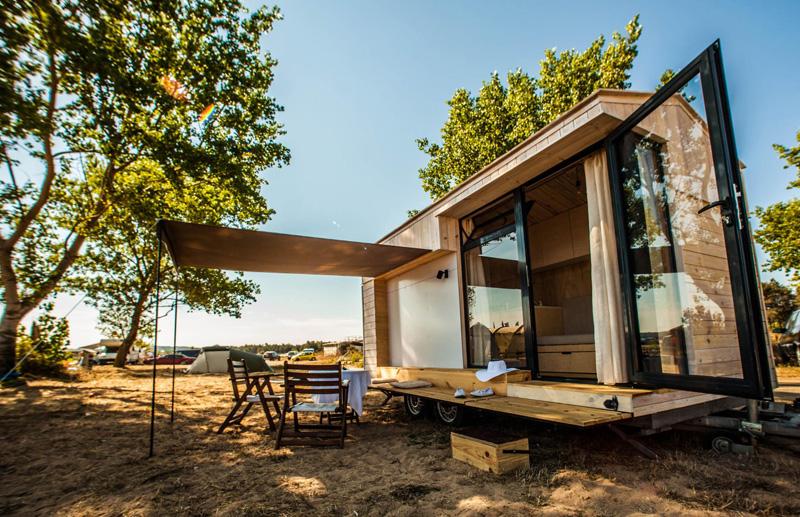 Desain Rumah Minimalis Sederhana Kanopi