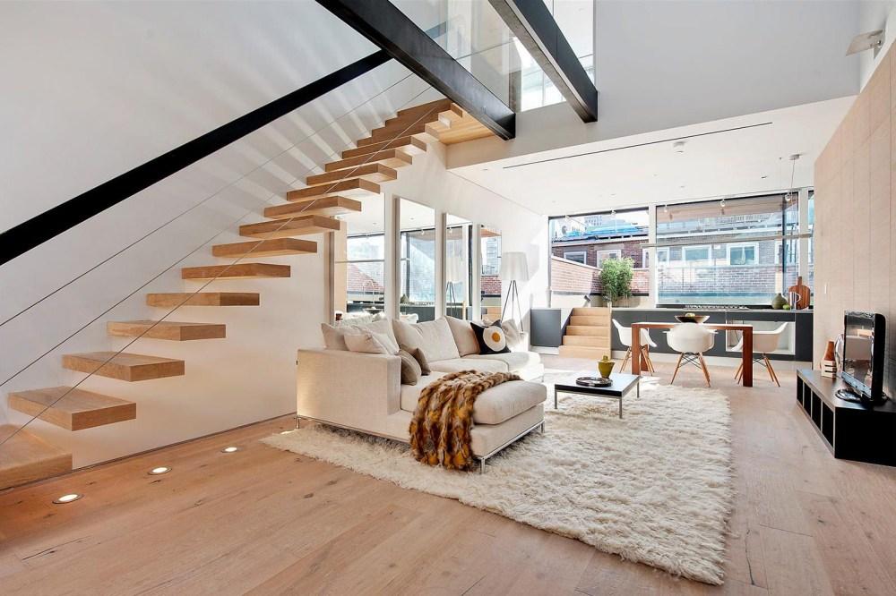 Tangga Rumah Mewah Floating Stairs