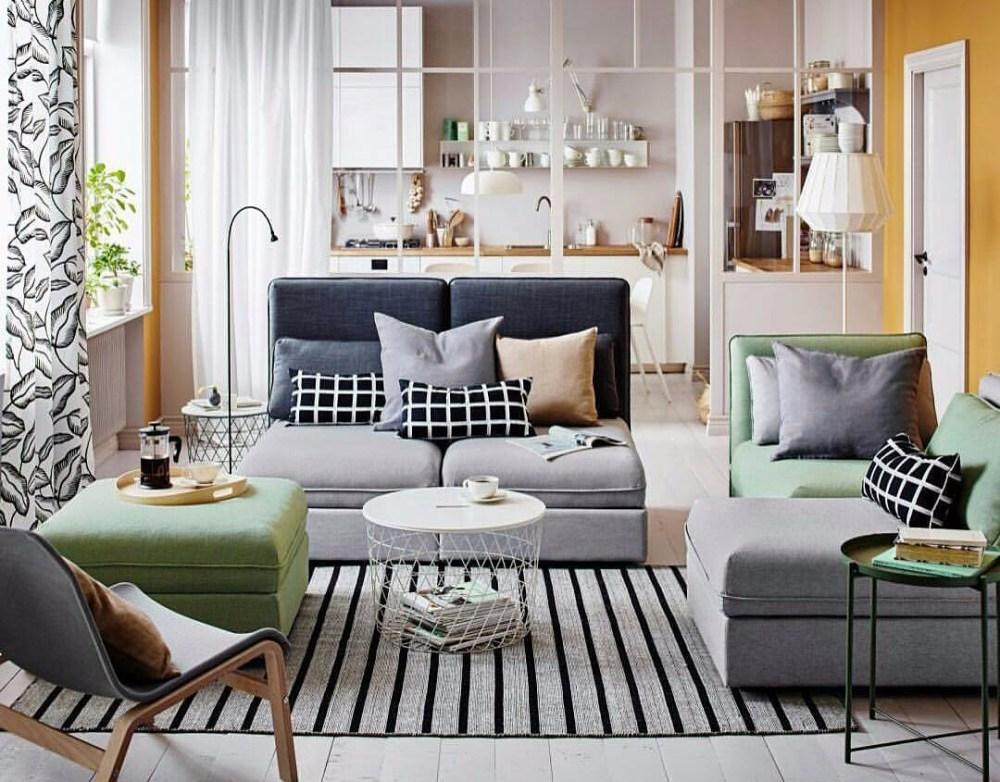 Sofa U dekorasi Ruangan Tamu