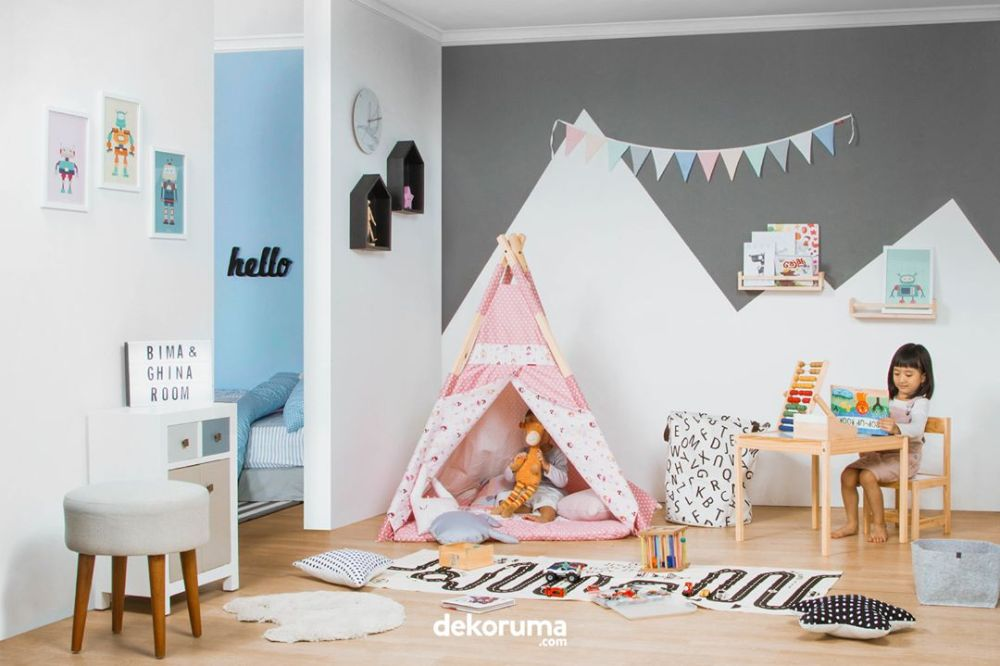 Ruang yang Cukup untuk Ruang Bermain Anak