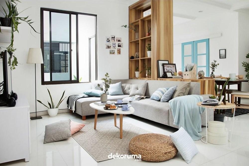 Sofa L Furnitur Rumah