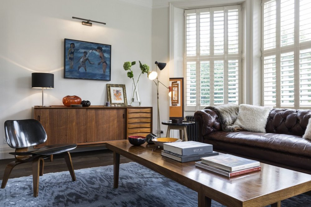 Sentuhan Modern pada Interior Vintage