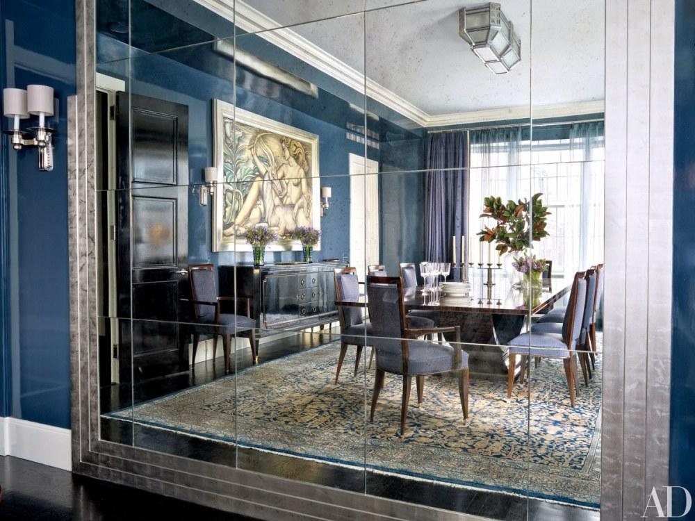 Desain Retro Art Deco Ruang Makan