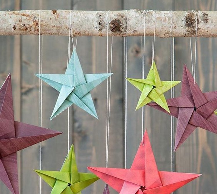Murah Meriah, Ini 7 Kreasi Membuat Hiasan Dinding Dari Origami