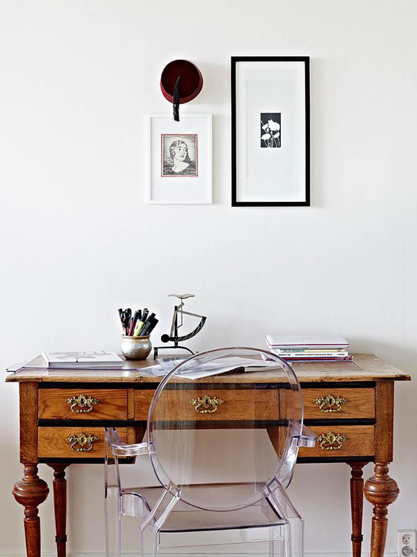 Furnitur Interior Vintage dengan Furnitur Modern