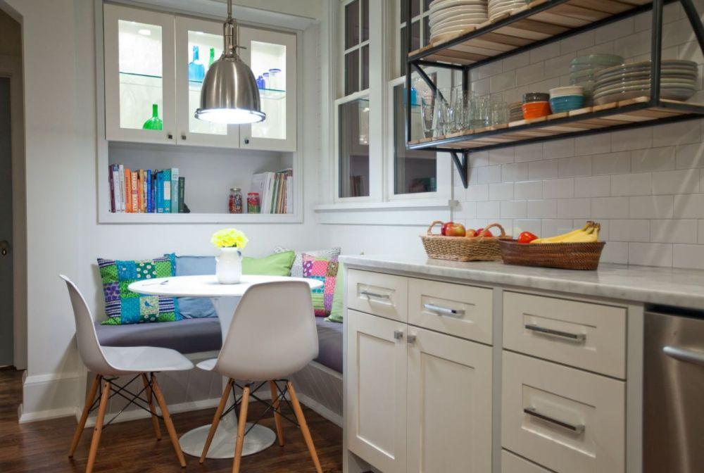 Ruang Baca di Dapur