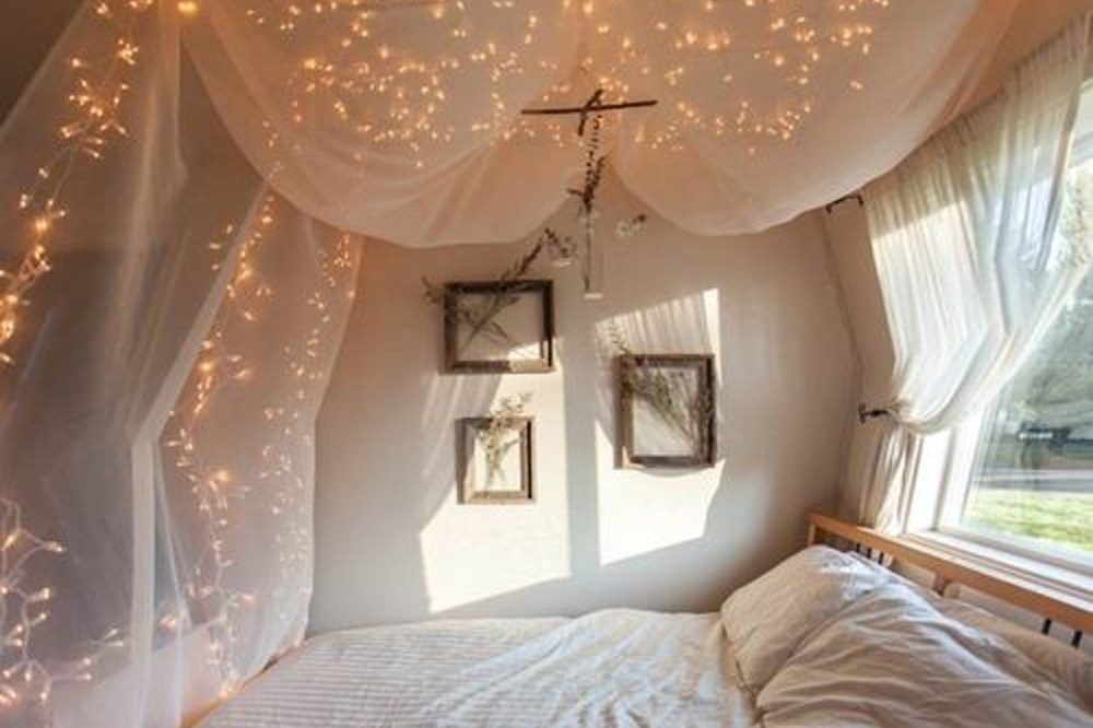 kamar pengantin pencahayaan