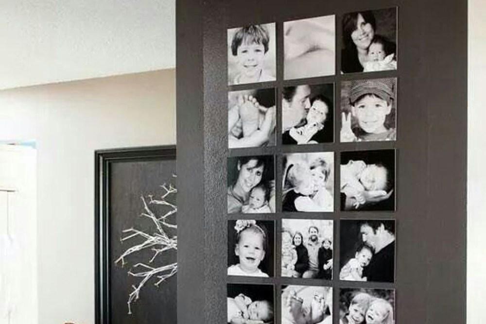 kamar pengantin pajangan foto