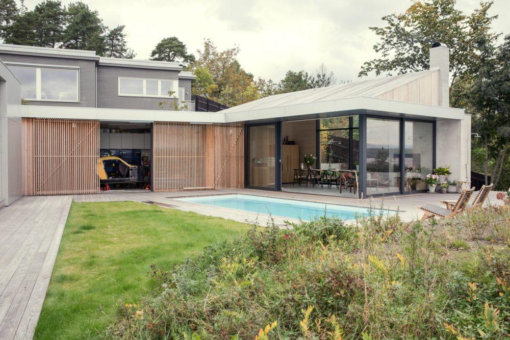 Model Atap Rumah Minimalis pada Skandinavian House