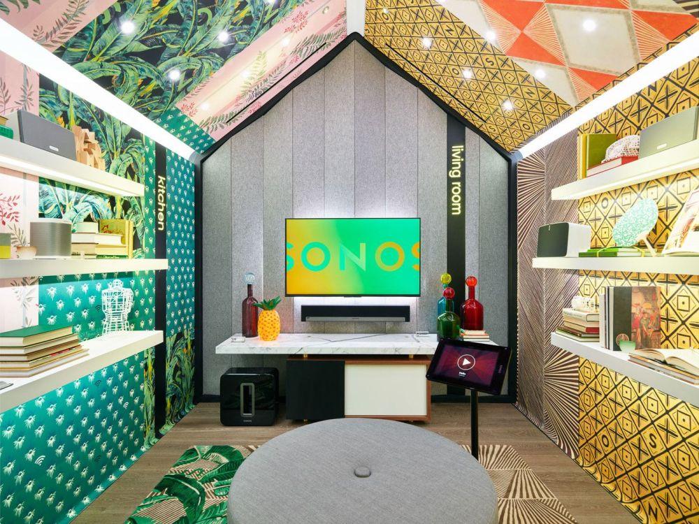 Optimalkan pencahayaan interior pada desain toko kecil