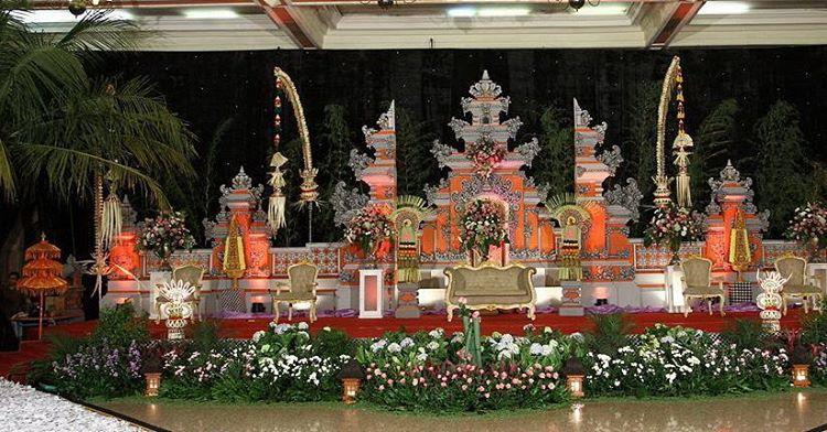 Dekorasi Pelaminan Bali