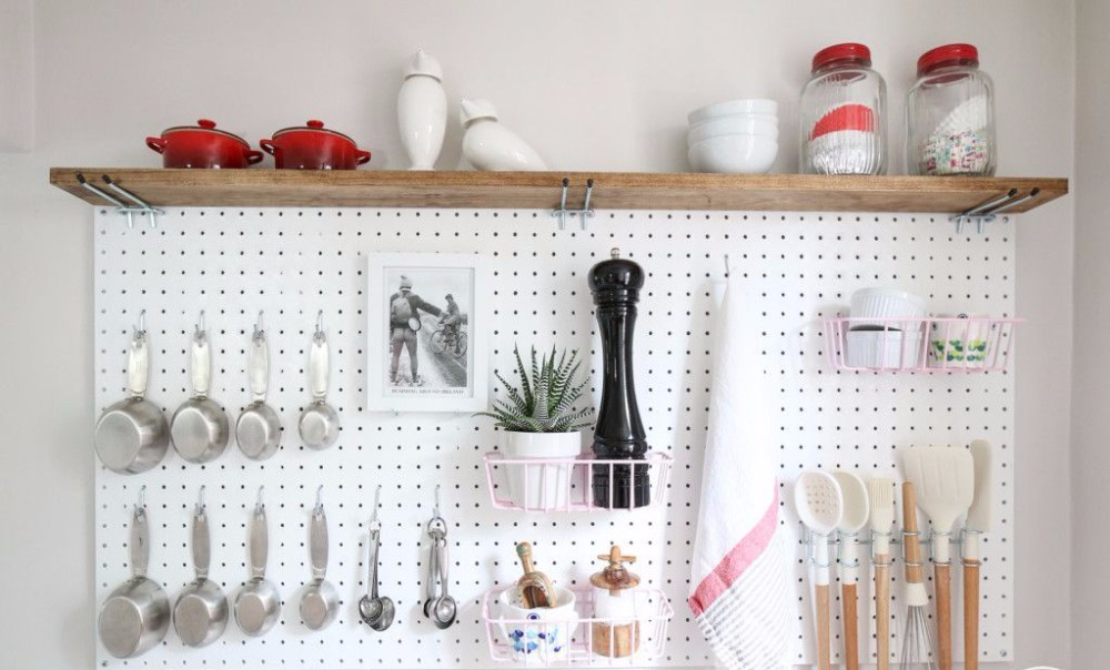 Pegboard Pantry