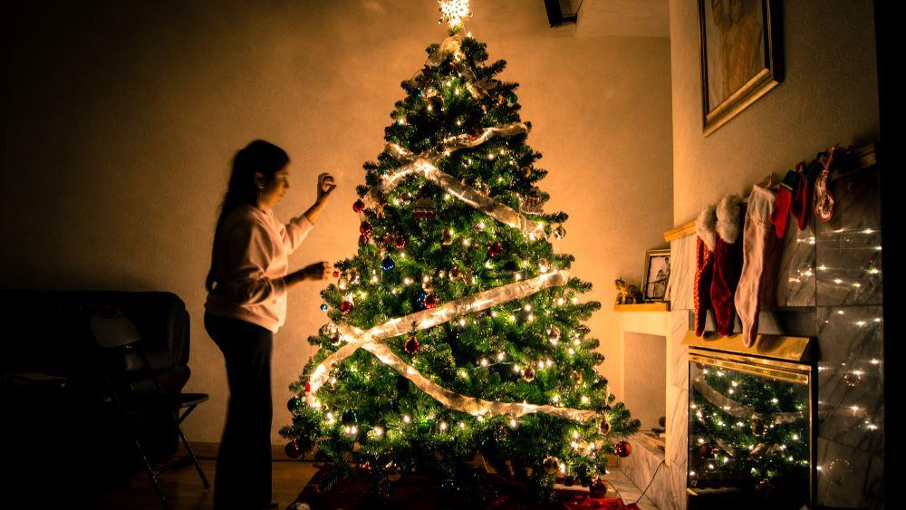 dekorasi natal garland