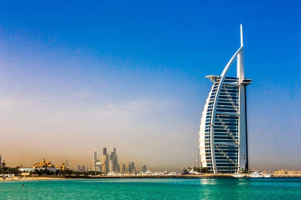 Arsitektur Islam Al-Burj di Uni Emirat Arab